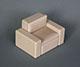 法蘭克福現代沙發組---1人座--灰卡其色