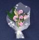 紫色玫瑰花束