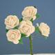 白色玫瑰花(大)-5朵1組
