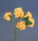 黃色玫瑰花(中)-5朵1組
