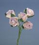 淡紫色玫瑰花(中)-5朵1組