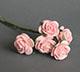 淡粉紅色玫瑰花(特大)--5朵/束