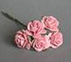 淡莓色玫瑰花(特大)--5朵/束