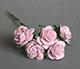 淡紫色玫瑰花(特大)--5朵/束