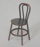 古銅色鐵椅