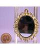 金色橢圓鏡