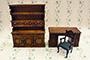 書桌書櫃組(3件/組)
